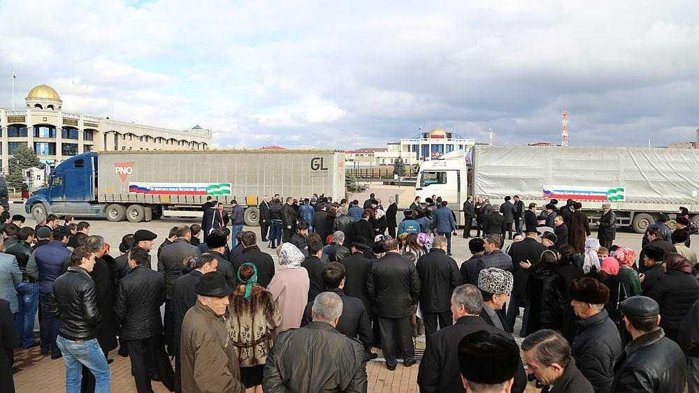 Гуманитарный груз из Ингушетии прибыл в Крым