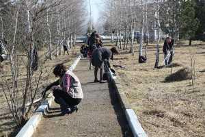 Субботники прошли во всех городах Ингушетии