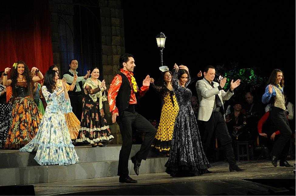 Празднование  юбилея народной артистки России