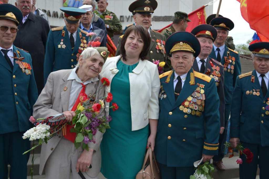 Белгородское отделение Всероссийского общественного движения «Матери России» поздравляет  всех с Днём Победы