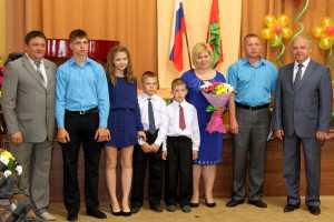В администрации Липецкой области прошел праздник многодетных семей