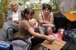 Беженцы с Украины в Чеченской Республике