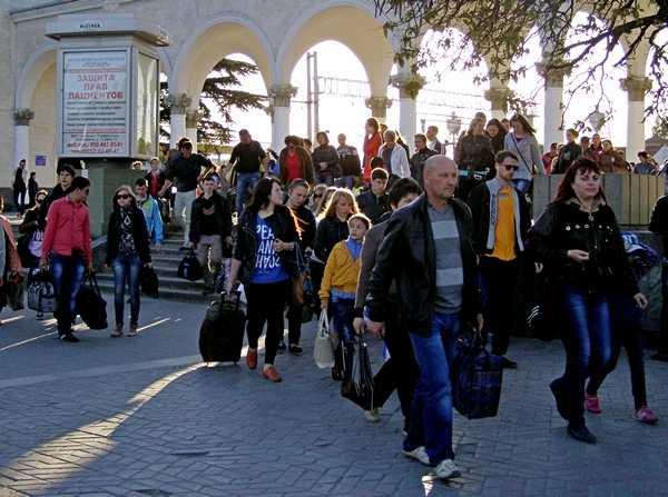 В Волгоградской области находится 6000 беженцев с Украины.