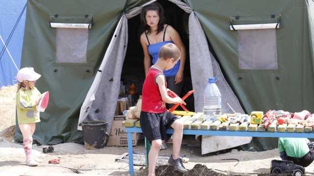 В Курской области разместилось 778 переселенцев с Украины
