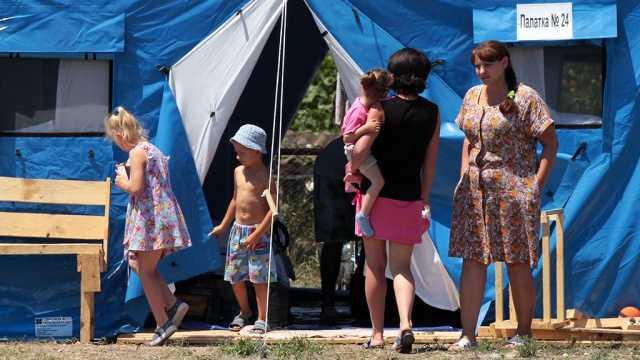 Работа с беженцами Украины Регионального отделения ВОД «Матери России» Приморского края