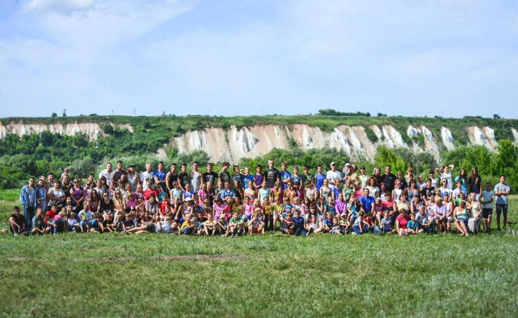 Семьи Нововоронежа провели восемь дней в детском лагере «Ковчег -2014»