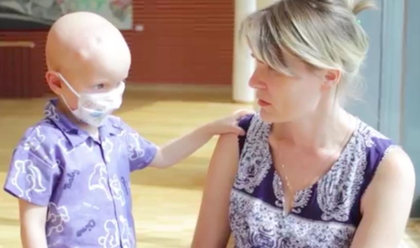Требуется срочная помощь малышу. Рак головного мозга