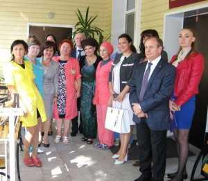 5 сентября Матери России посетили палеотивный центр Воронежа