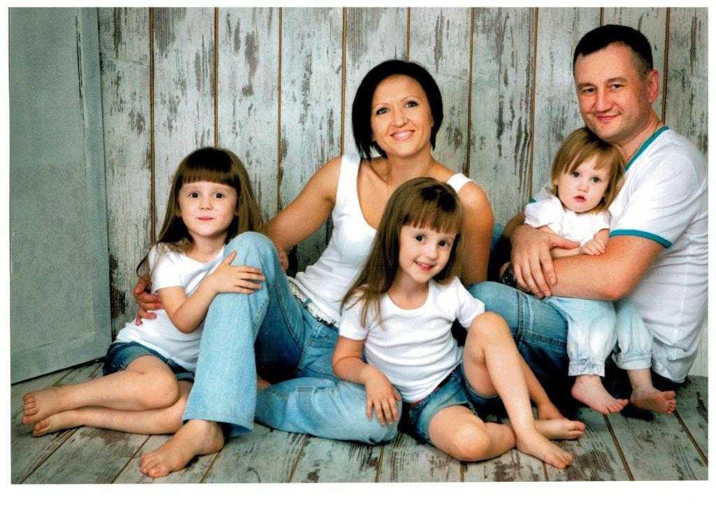 В Оренбургской области выбрали пятерку лучших многодетных семей  фото семьи Радченко