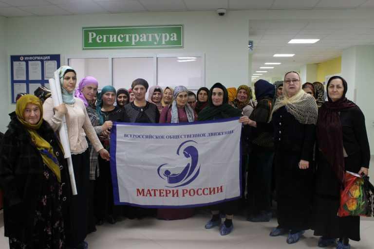 Акция «Розовая лента» в Дагестане
