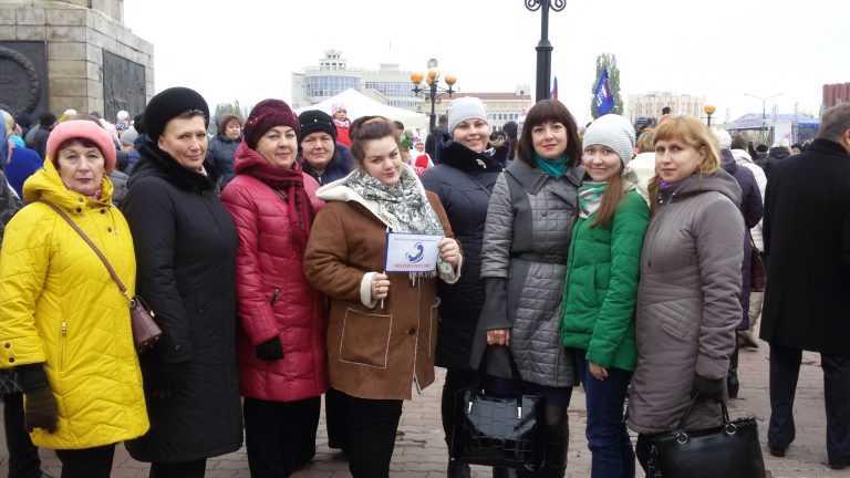 День народного единства 4 ноября в Липецке стал днем широкомасштабных гуляний.