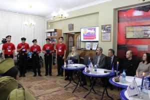 В Центральной библиотеке прошло очередное заседание клуба молодого патриота «Отечество» имени Героя России Магомеда Нурбагандова.