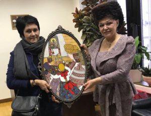 Художница Щурихина Ирина Викторовна подарила картину в фонд Движения