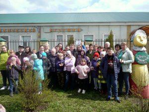 Весенний праздник «Сороки»  для особенных детей в Центре романовской игрушки