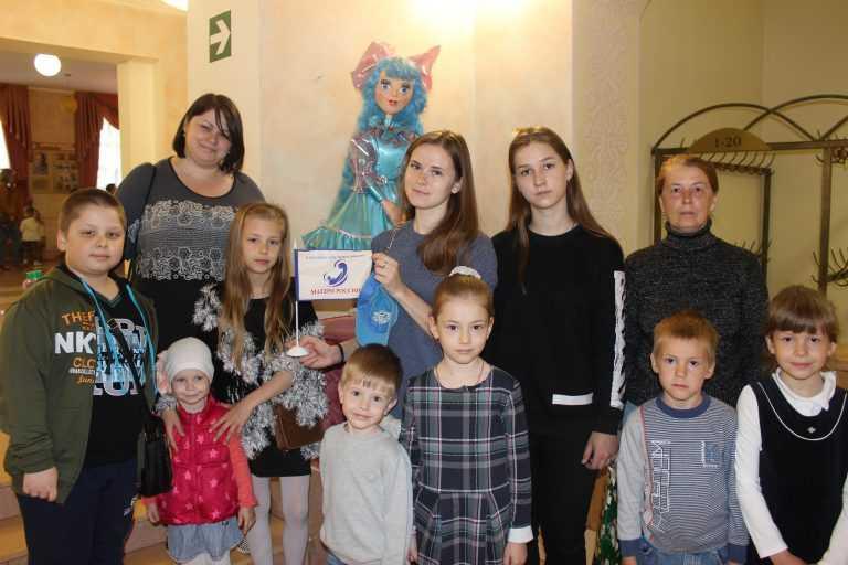 Спектакль для особенных детей в «Липецком государственном театре кукол»
