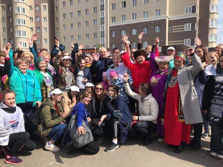 В столице Хакасии состоялась торжественная закладка «Аллеи Матерей».
