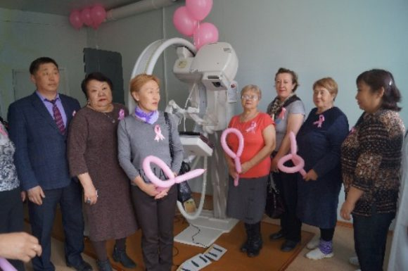 В рамках международной конференции прошла Акция «Розовая ленточка»
