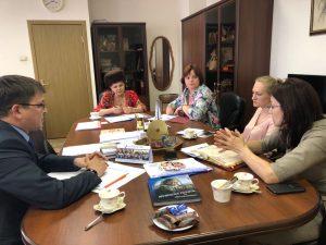 Подготовка к круглому столу совместно с представителями Федеральной службы судебных приставов РФ.