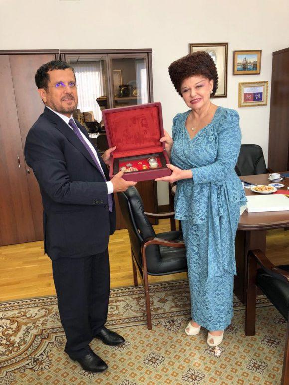 В. А. Петренко обсудила с Послом ОАЭ в РФ сотрудничество в социальной сфере, укрепление межрегиональных связей.