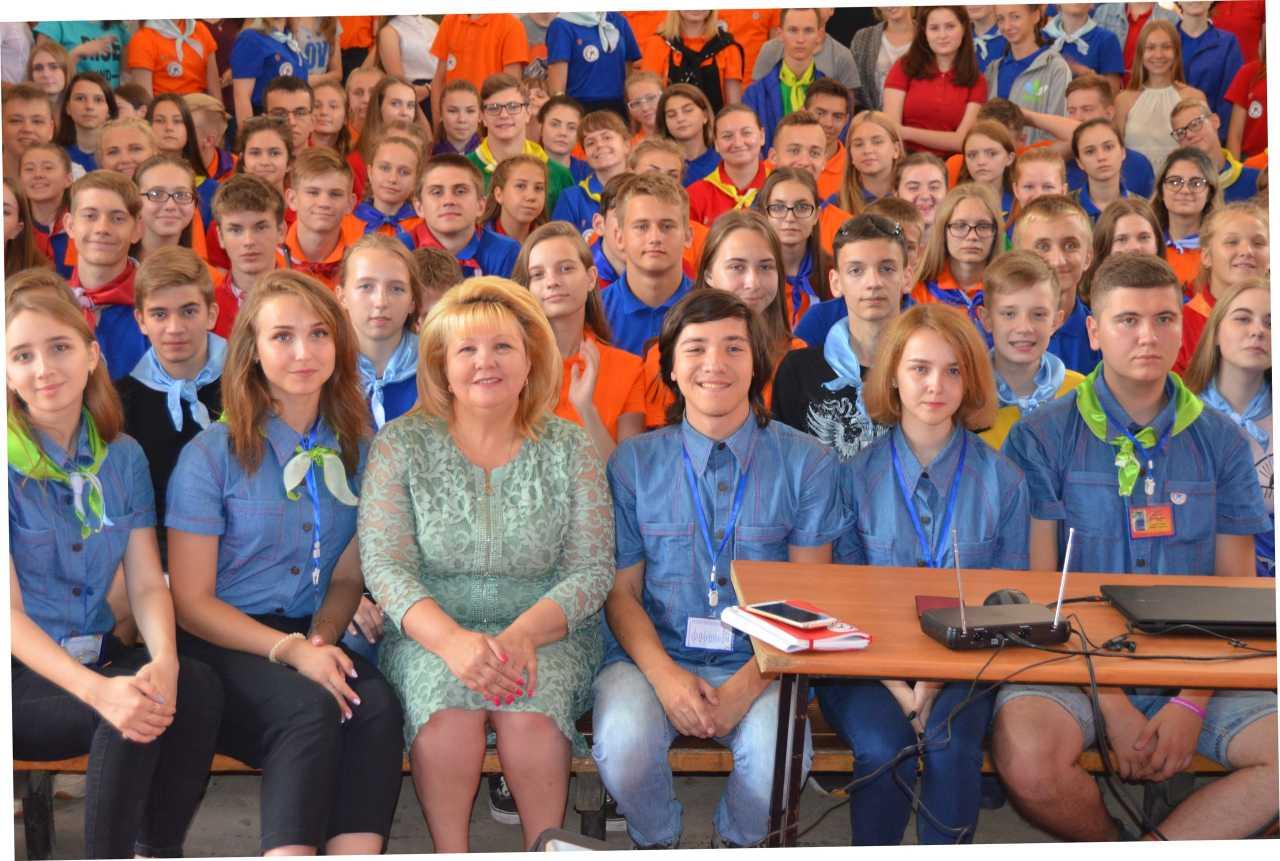 День семьи в школе молодежных лидеров Курской области.