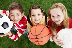 Спортивный праздник многодетных семей