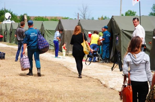 Беженцы с Украины прибывают в Калмыкию