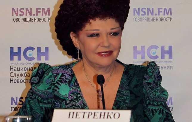 Сенатор Валентина Петренко