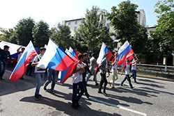 В Чеченской Республике отметили День флага России