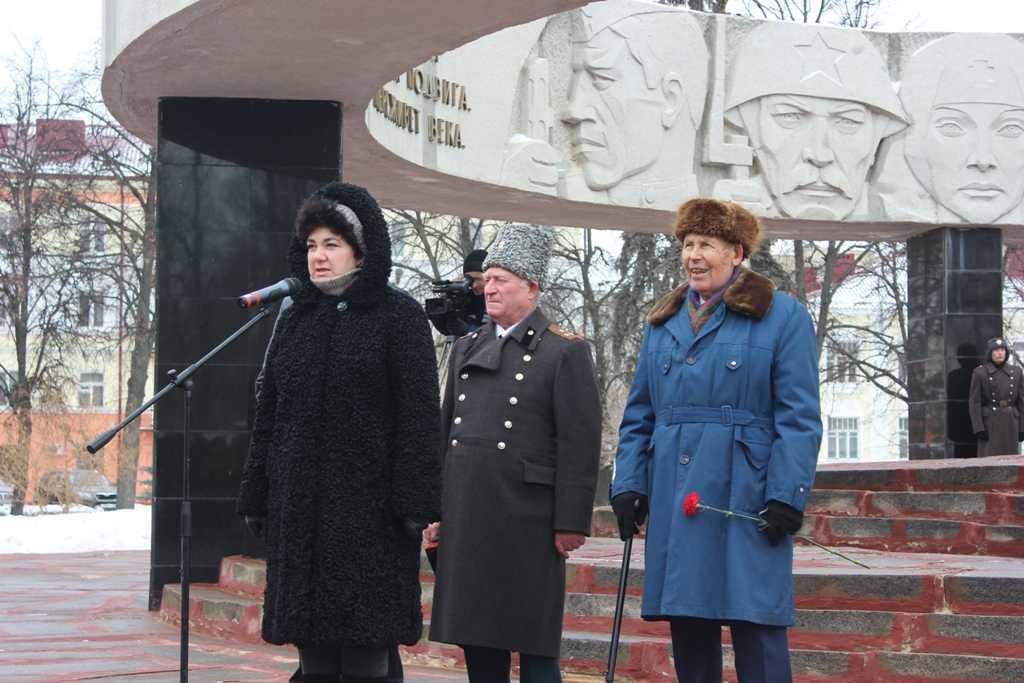 митинг в честь 71-й  годовщины снятия блокады Ленинграда