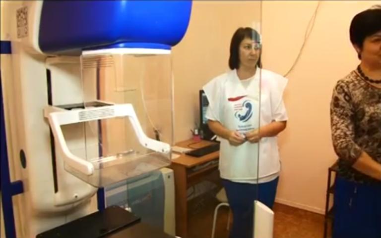 В Саяногорске стартовала акция «Розовая лента»