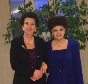 Встреча с Нино Анзоровной Бурджанадзе