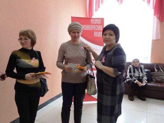 Свыше 300 оренбуржцев стали участниками акции «Розовая ленточка