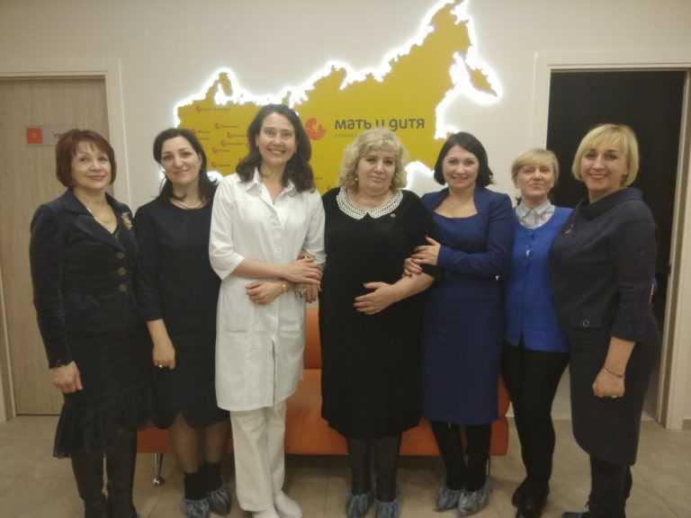 """Посещение региональной клиники """"Мать и Дитя"""""""