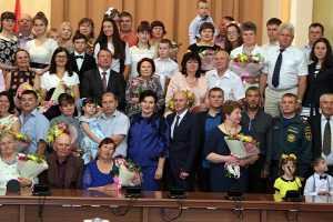 Чествование многодетных семей Липецкой области