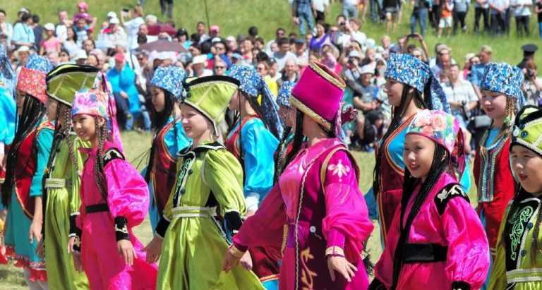 Хакасия празднует один из главных национальных праздников - «Тун пайрам»