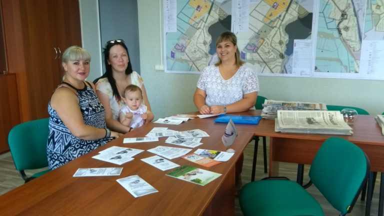 Выездной прием граждан в рамках акции «Социальный поезд «Забота» в селе Введенка