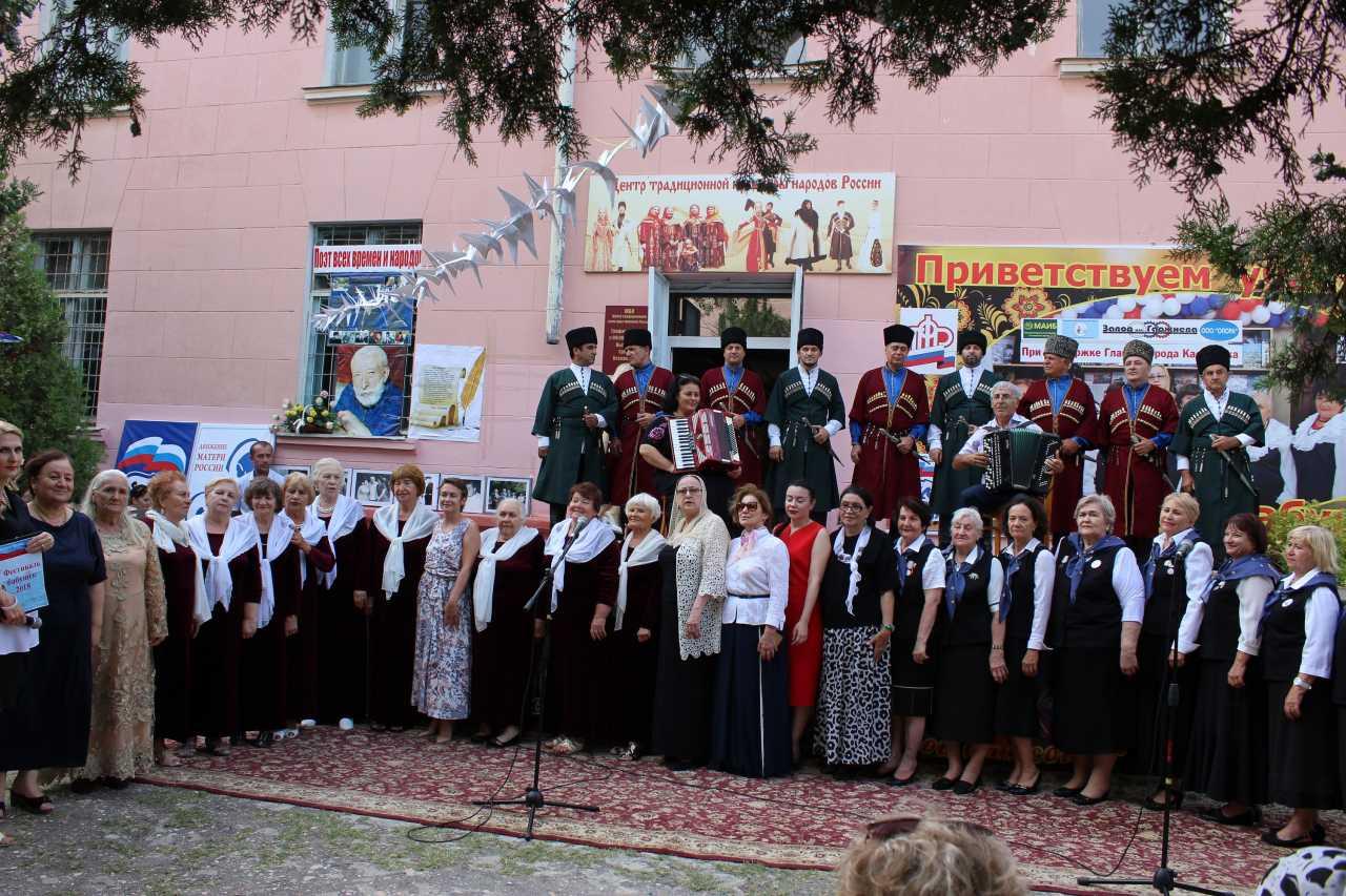 И вновь «Битва хоров» в Каспийске