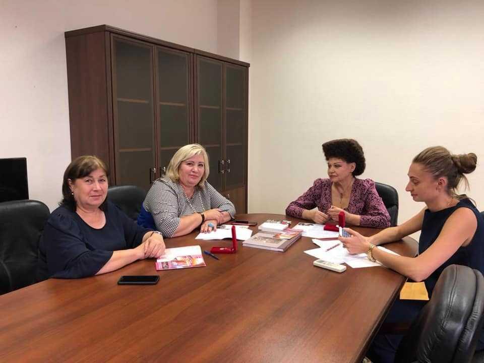 Рабочая встреча с Представителями Ингушского регионального отделения.