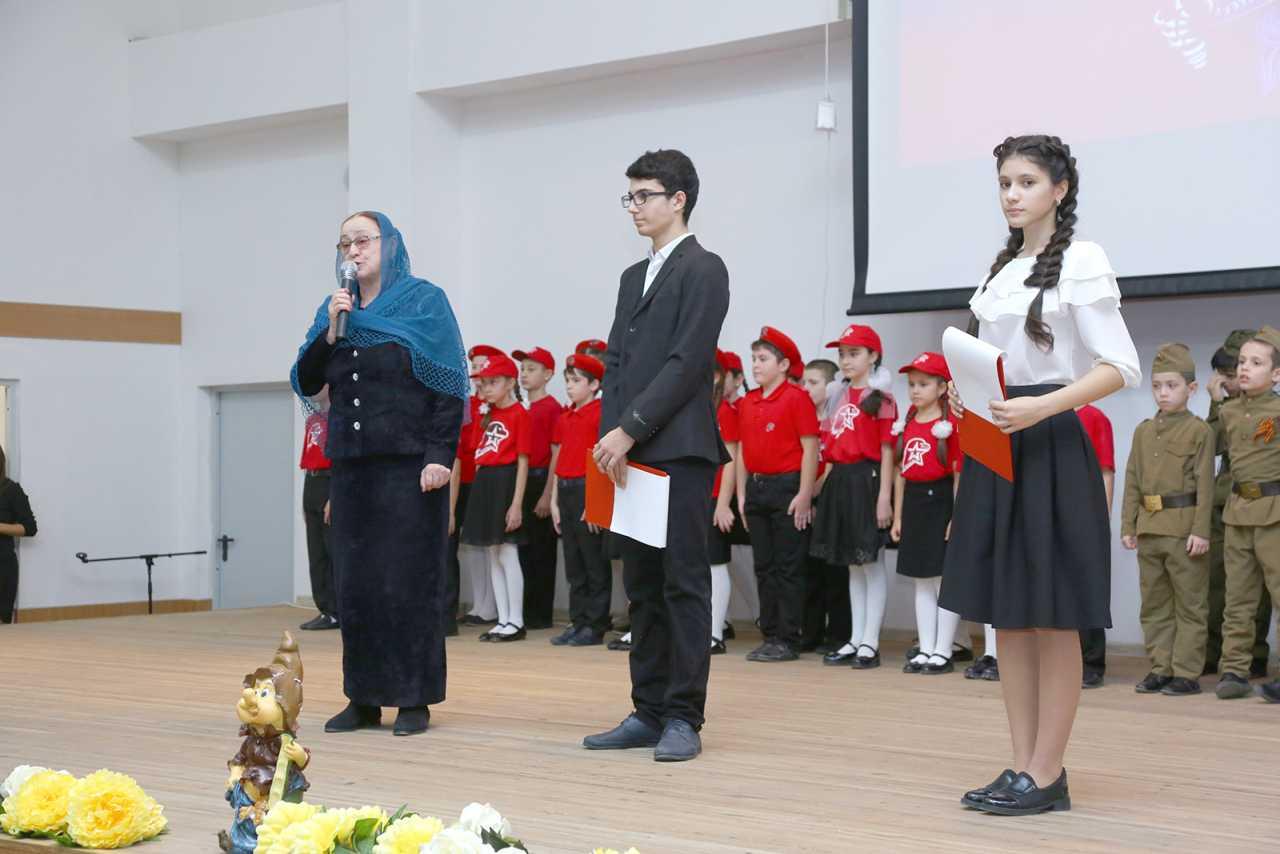 Открытие Регионального центра военно-патриотического воспитания учащихся.