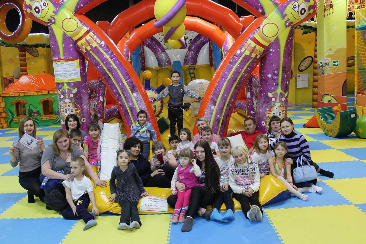Семьи Липецкого района посетили семейный парк развлечений «ЧайЛенд»
